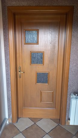 Drzwi wewnętrzne  sosnowe