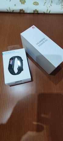 Huawei Mate 10 Lite e Honor Band 5i