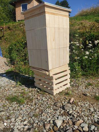Ule wielkopolskie z dennica higieniczną pasieka dennica pszczoły Promo