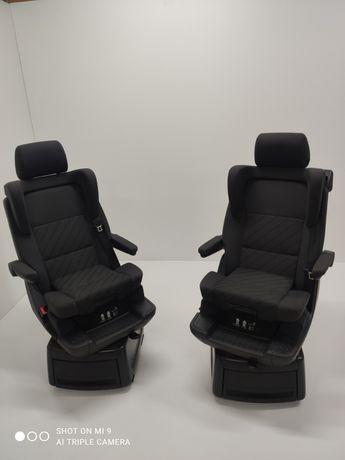 Fotele Obrotowe Obkręcane Dziecięce VW T5 T6 Cheyenne Comfortline