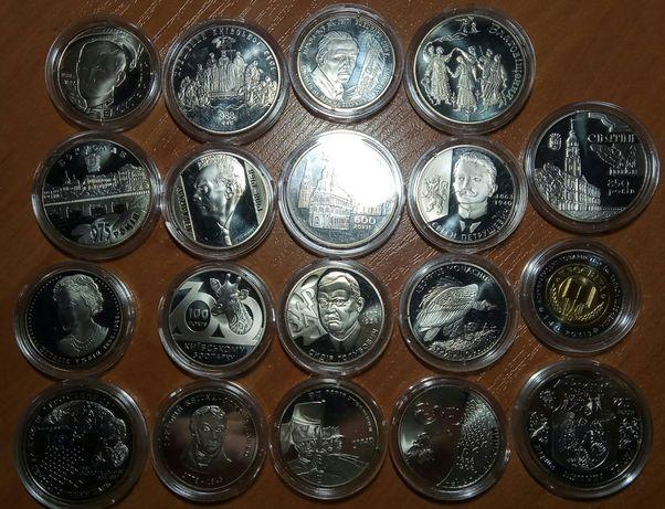 Годовая подборка монет 2008