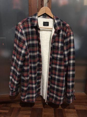 Camisa de flanela e lã Globe