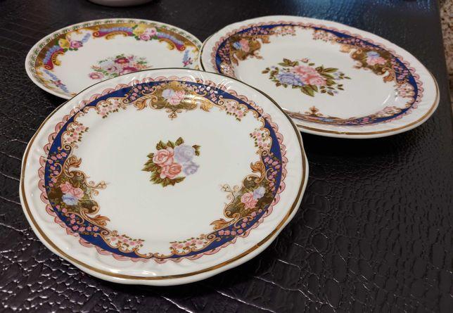 Pratos porcelana Limoges Disfer conjunto