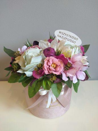 Kompozycja box kwiatowy