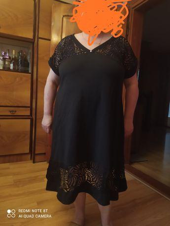 Sukienka 52 54 czarna
