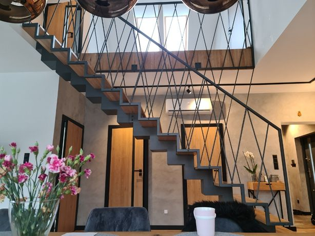 Schody balustrady Loft