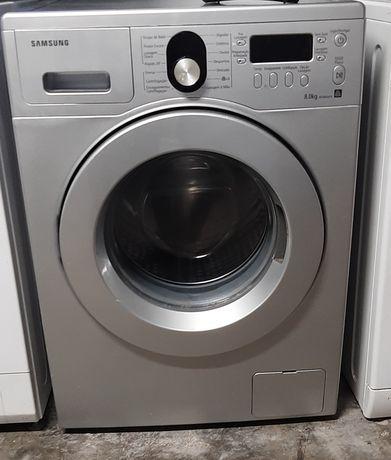 Máquina de lavar roupa Samsung 8kg cinza