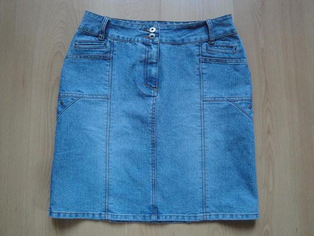 Spódnica jeansowa claire.dk roz. 38 z laicrą M/L