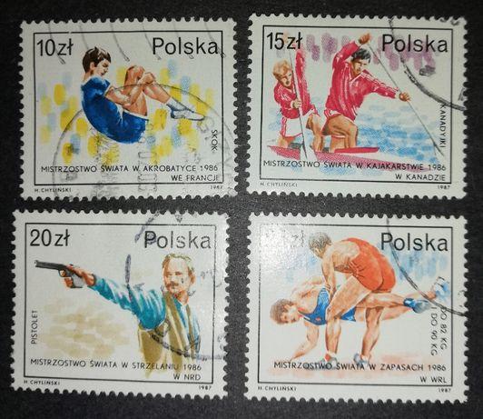 Polska Mistrzostwa Świata 1986 znaczek / znaczki