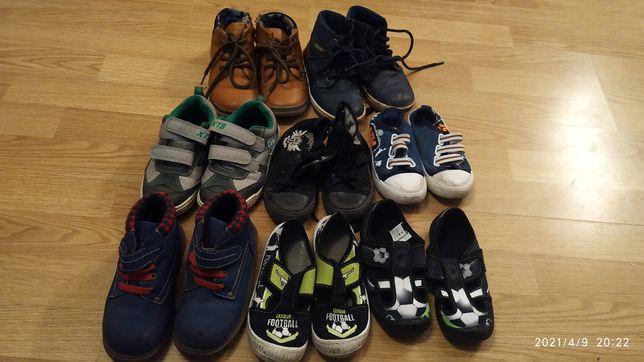 Buty papcie trampki nowe używane 28 dla chłopca