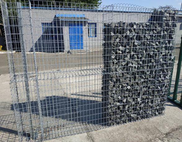 Забор с секций сварных .3д -секции , секционное ограждение в Одессе