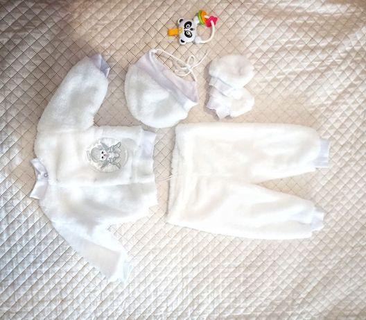 Набір костюмчик для хрещення для хлопчика дівчинки 3-6 місяців