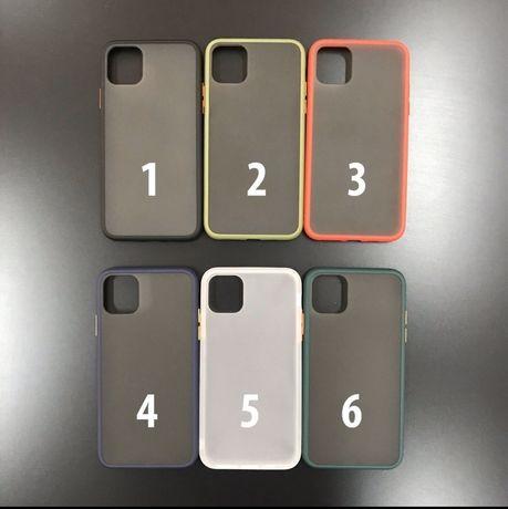 Матовый Avenger чехол для iPhone противоударный silicone case