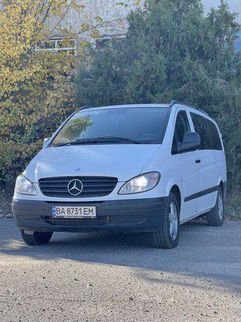 Mercedes Vito111CDI оригинальный пассажир