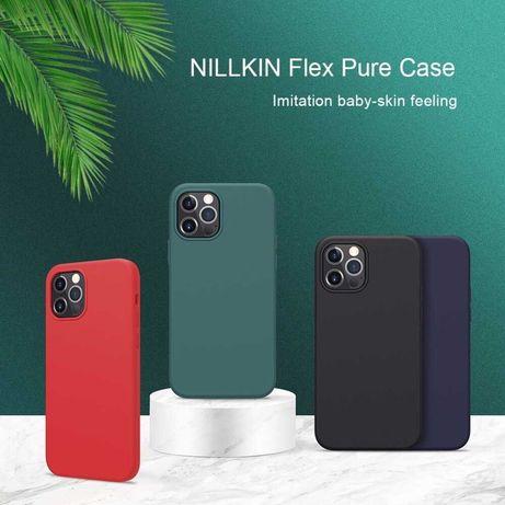 Силиконовый чехол iPhone 12 Mini, 12, 12 Pro, 12 Pro Max Nillkin Flex