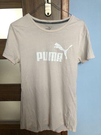 Koszulka krótki rękawek Puma pudrowy róż rozmiar S
