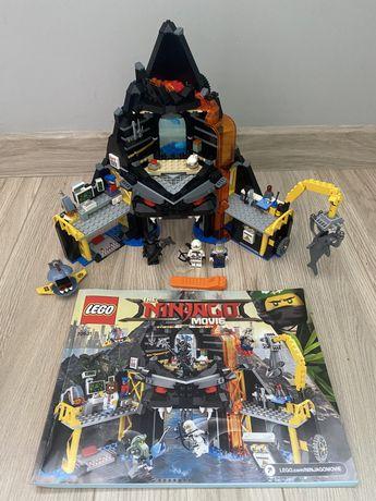 Klocki Lego Ninjago Movie 70631 wulkaniczna kryjówka Garmadona