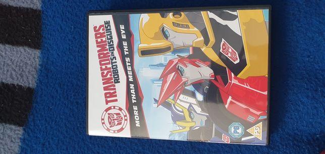 Transformers cd bajka dla dzieci wersja angielska.