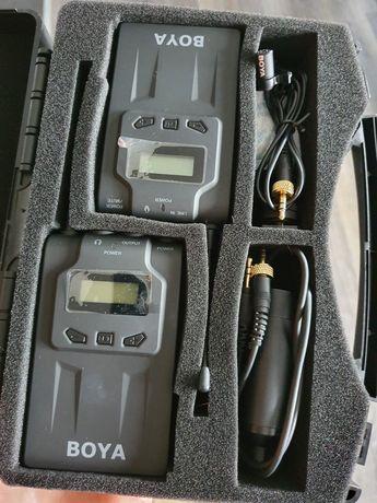 BOYA BY-WM6 bezprzewodowy mikrofon krawatowy mikroport
