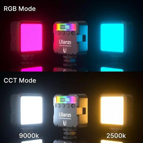 Накамерне світло LED RGB Ulanzi VL49 Накамерный свет Видеосвет