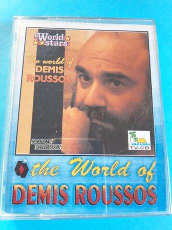 KASETY MAGNETOFONOWE Demis Roussos komplet 2 sztuki 1992