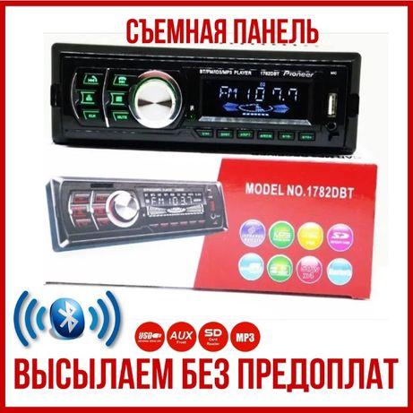 Автомагнитола1782 DBT Bluetooth , магнитофон авто машину сьемная пан