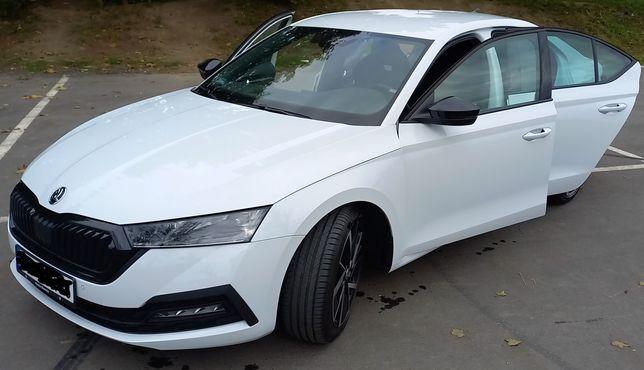 Auto do ślubu Skoda Octavia 4 2021 wynajem z kierowcą