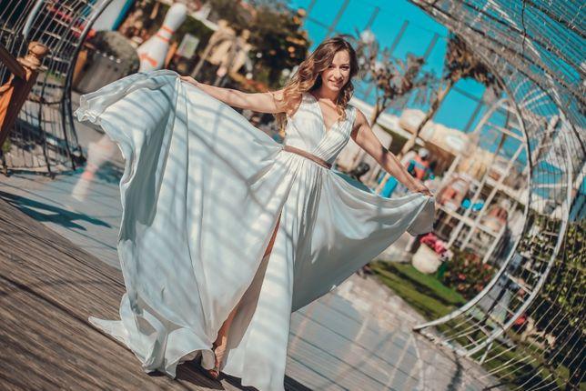 Платье белое, свадебное