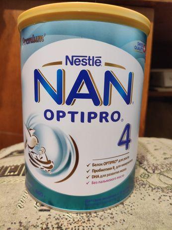 Детская смесь nan optipro 4, 800 грамм