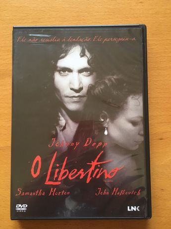 DVD O Libertino - Johnny Deep