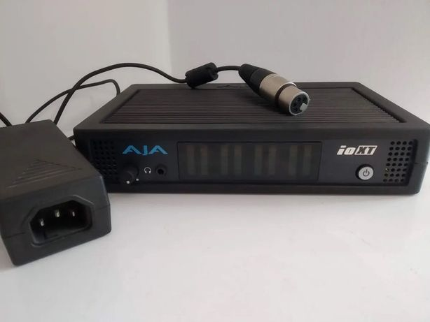 Placa de Captura - AJA Io XT Thunderbolt 3G/HD/SD-SDI, Analog, HDMI