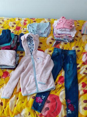Sprzedam ubrania dla dziewczynki rozm.116-122