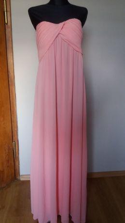 Różowa sukienka L XL