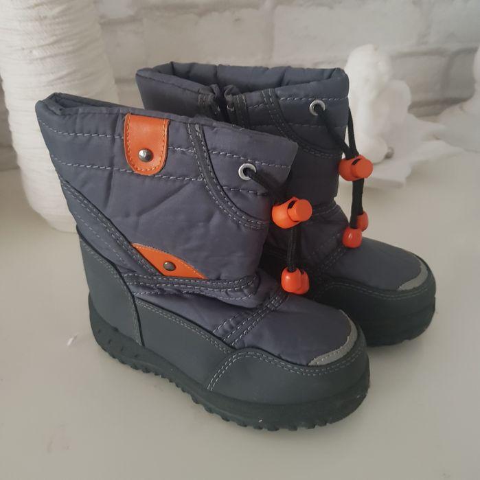 Buty zimowe rozmiar 26 Lidl chłopięce unisex szare Wiskitki - image 1