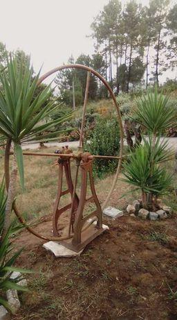 Roda de poço antiga