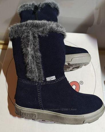 Зимние ботинки сапоги Pepino Geox Ecco р.26 натуральная замша