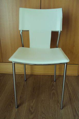 Cadeira de Secretária Branca