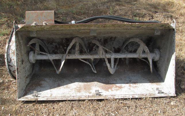 Balde betoneira para Bobcat