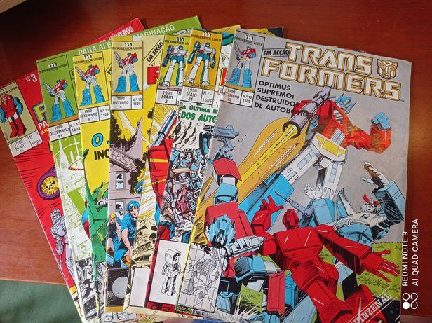 BD Transformers década 1990