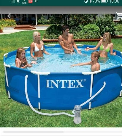 Vendo piscina intex