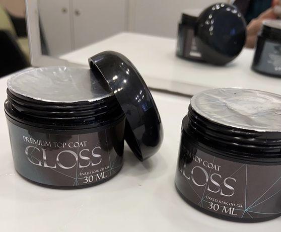 Продам Premium top coat gloss с липким слоем