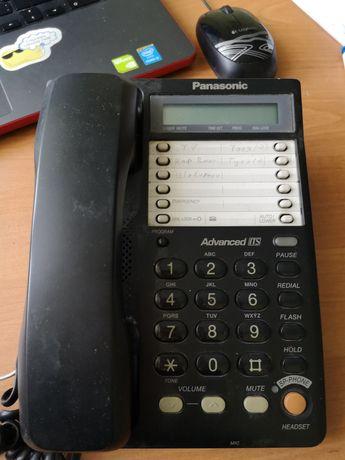 Стационарный телефон Panasonic рабочий на кнопка