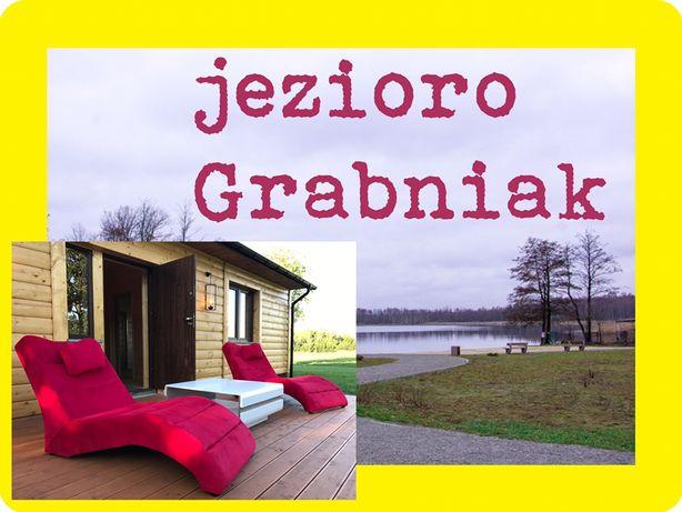 WYNAJMĘ dom LUX letniskowy nad jeziorem Rotcze KLIMA NOCLEG Grabniak