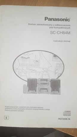 Panasonic SC-CH84M instrukcja manual