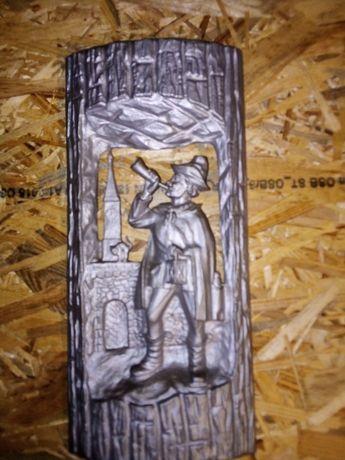 Płaskorzeźba Z Aluminium