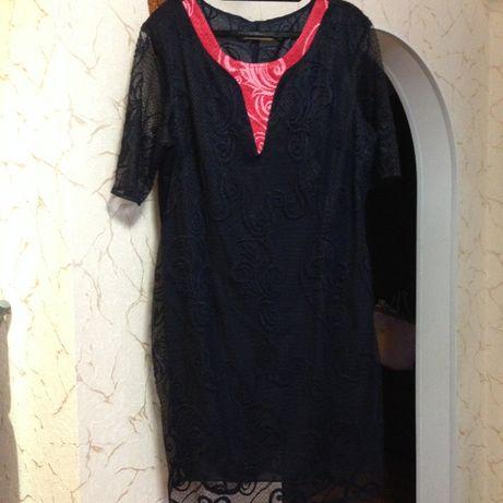 Женское кружевное платье ( недорого)