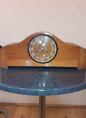 Stary zabytkowy zegar kominkowy marki Predom Metron