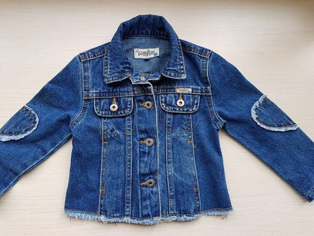 Обалденная джинсовка для стильной малышки