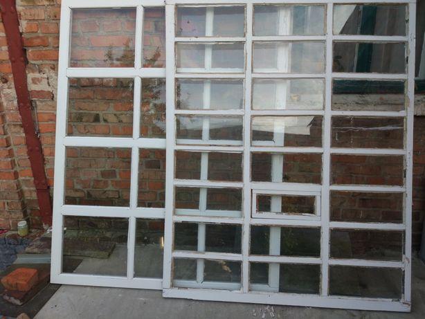 Рама оконная с стеклом