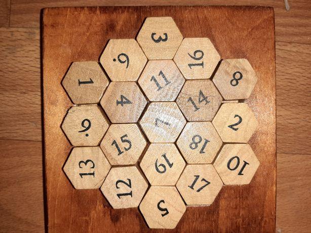 Деревянная головоломка пазл